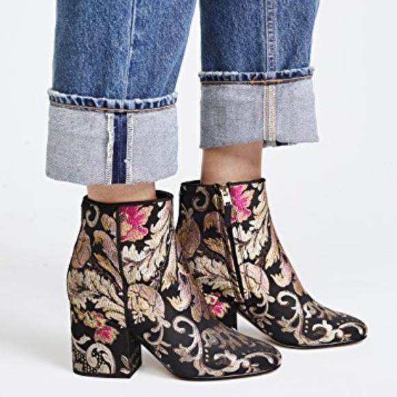 4b163bbb1f7637 Sam Edelman Women s Taye Boot Black Multi Size 6